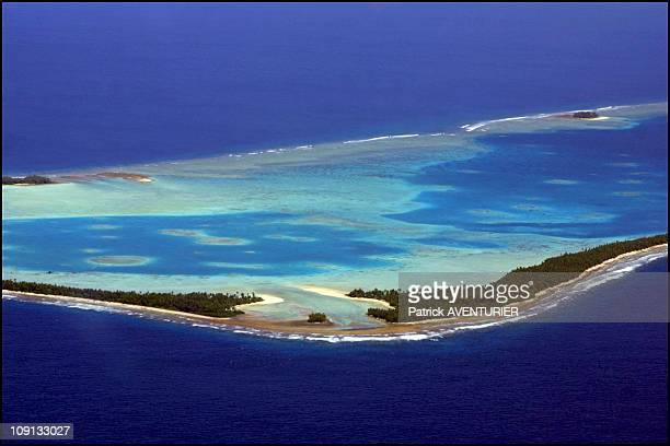 Climate Warming And Water Rise Threaten Pacific Nation Of Tuvalu On January 4Th 2002 In Funafuti Tuvalu Between Hawaii And Australia Nine Coral...