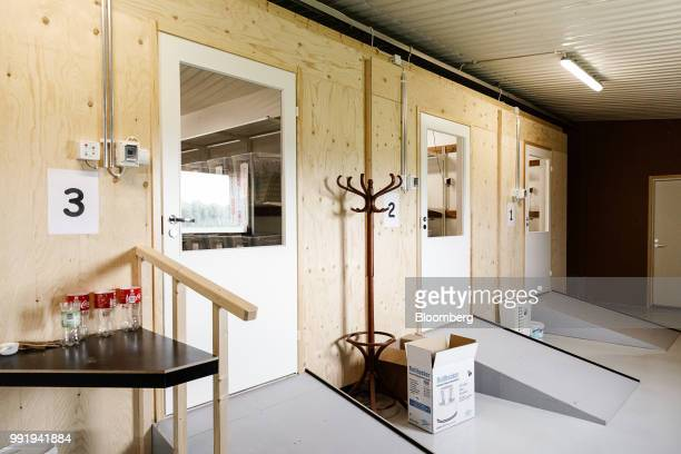 Climatecontrolled growth rooms stand in a barn on the Siikonen family farm in Forssa Finland on Tuesday June 26 2018 On their 500yearold homestead in...