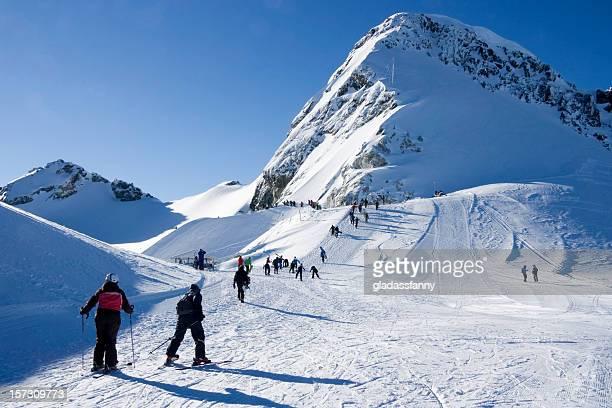 Climb to Blackcomb Glacier