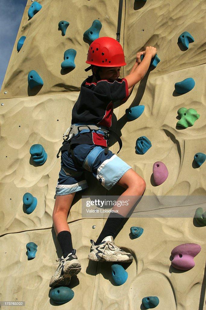 Climber : Stock Photo