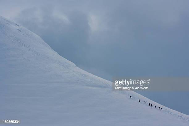 climbers, antarctica - 南極大陸探検 ストックフォトと画像