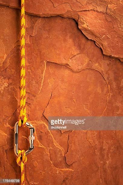 登山用具に、レッドロック