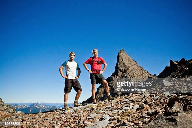 climbing foley peak - arms akimbo stock photos and pictures