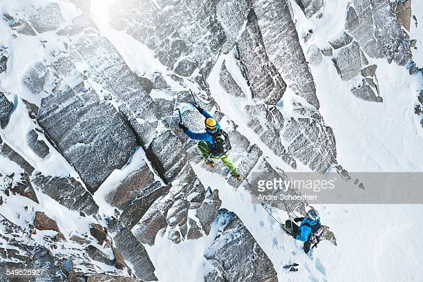 Climbing in the Austrian Alps