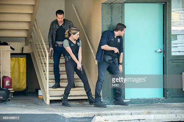 D Climbing Into Bed Episode 305 Pictured Jon Seda as Antonio Dawson Sophia Bush as Erin Lindsay Jesse Lee Soffer as Jay Halstead