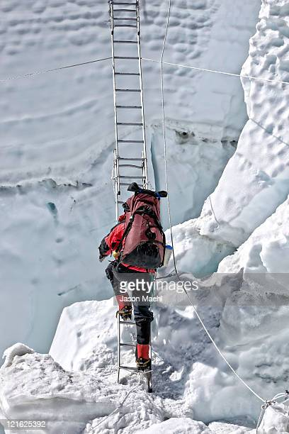 Climbing Mt Everest