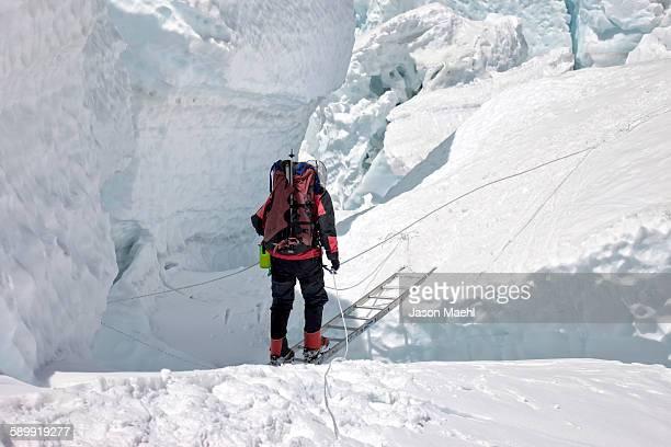 Climbing Mt Everest