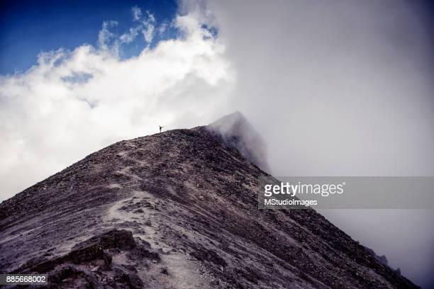 Climbing Nevado de Toluca