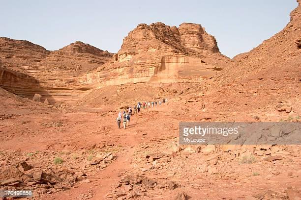 Climbing To The Temple Of Hathor At Sarabit AlKhadim