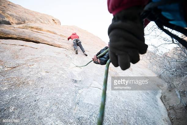 Klettern bis
