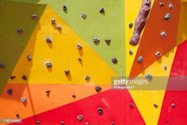 climbing wall - クライミングウォール ストックフォトと画像