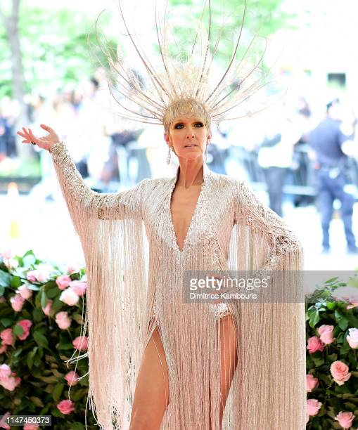 Céline Dion attends The 2019 Met Gala Celebrating Camp Notes on Fashion at Metropolitan Museum of Art on May 06 2019 in New York City