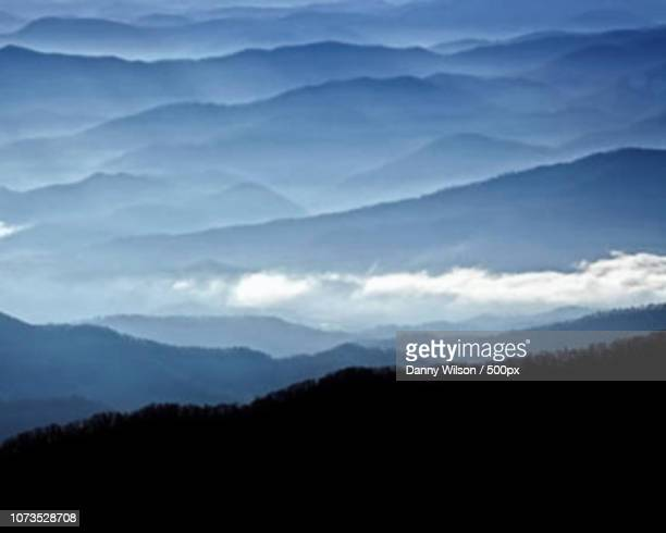 clingman dome overlook - clingman's dome stock photos and pictures
