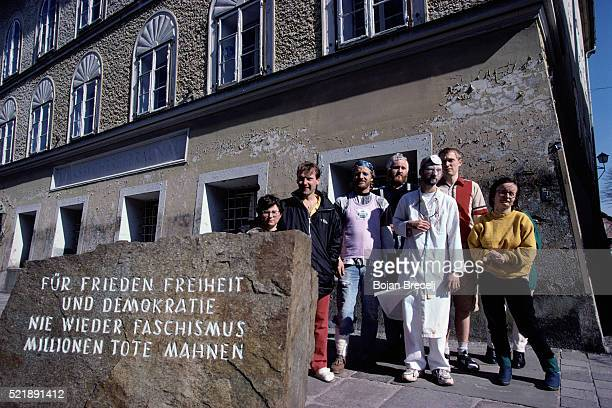 Clinic at House where Hitler was Born