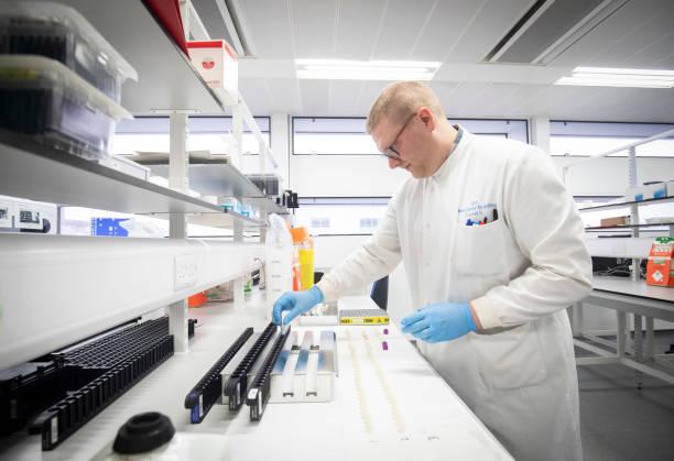 GBR: Coronavirus Testing Laboratory In Glasgow