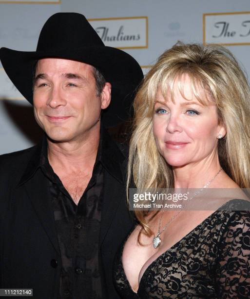 Clint Black and Lisa Hartman Black during The Thalians 50th Anniversary Musical Extravaganza Gala Arrivals at Hyatt Regency Century City Plaza in Los...
