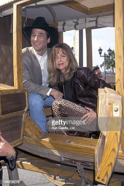 Clint Black and Lisa HartmanBlack during Clint Black Receives Hollywood WalkofFame Star at Hollywood WalkofFame in Hollywood California United States
