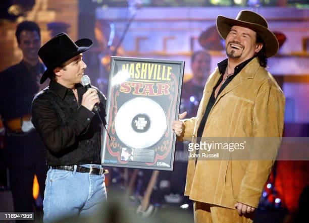 Clint Black and Nashville Star winner Buddy Jewel of Osceola AR
