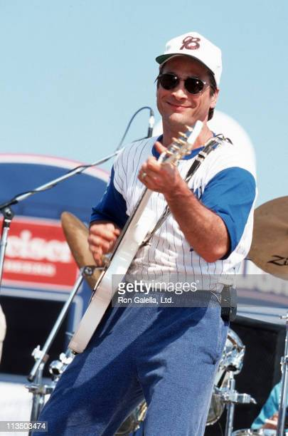 Clint Black during City of Hope Softball Game June 10 1995 in Nashville Tennessee United States
