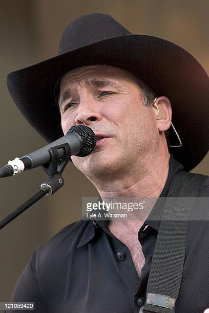 Clint Black during Clint Black performs at Taste of Chicago June 26 2005 at Grant Park in Chicago Illinois United States
