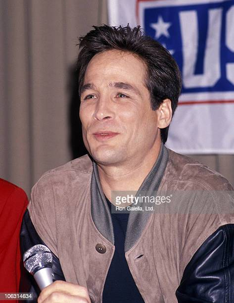 Clint Black during USO Press Conference to Announce Somalia Tour for US Troops at Los Angeles Press Club in Los Angeles California United States