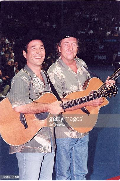 Clint Black Eric Idle during 1999 File Photos