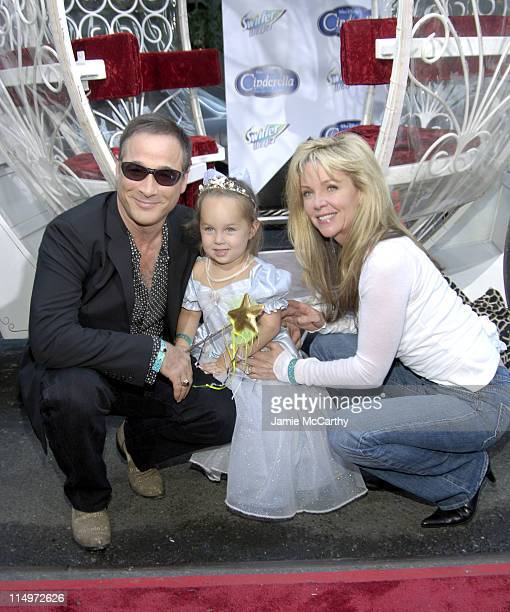 "Clint Black, Lily Pearl and Lisa Hartman during Swiffer Wetjet Presents the ""Cinderella"" DVD Release and Royal Ball - Red Carpet at Ziegfeld Theatre..."