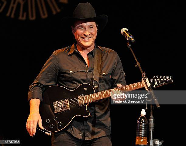 Clint Black performs at the 3rd annual Darius and Friends concert at Wildhorse Saloon on June 4 2012 in Nashville Tennessee