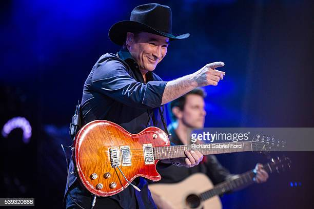 Clint Black performs during the 2016 CMA Music Festival at Nissan Stadium on June 10 2016 in Nashville Tennessee