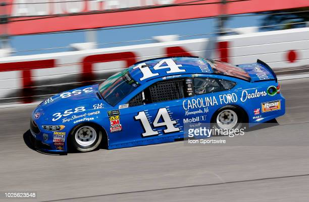 Clint Bowyer StewartHaas Racing Ford Fusion Carolina Ford Dealers during practice for the 69th annual Bojangles Southern 500 on Friday August 31 2018...