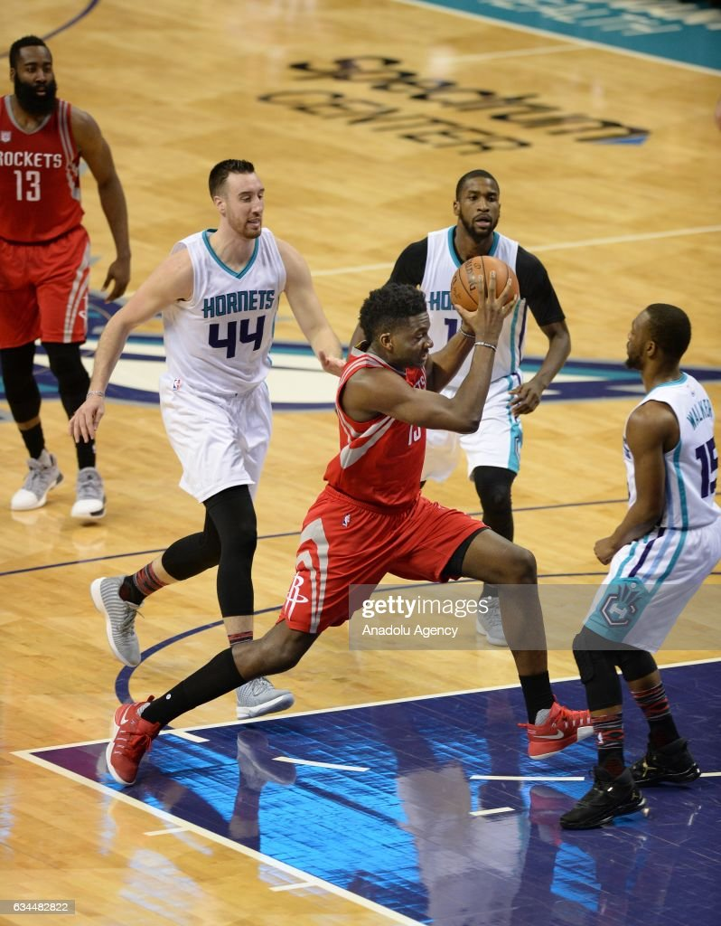 NBA - Houston Rockets vs Charlotte Hornets : News Photo