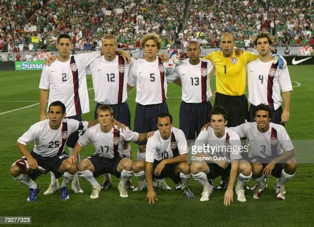 Clint Dempsey, Jimmy Conrad, Chris Albright, Ricardo Clark, goalkeeper Tim Howard, Carlos Bocanegra, Pablo Mastroeni, Chris Rolfe, Landon Donovan,...