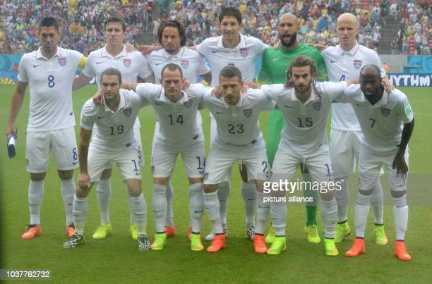 Clint Dempsey , Matt Besler, Jermaine Jones, Omar Gonzalez, goal keeper Tim Howard, Michael Bradley, Graham Zuzi, Brad Davis, Fabian Johnson, Kyle...
