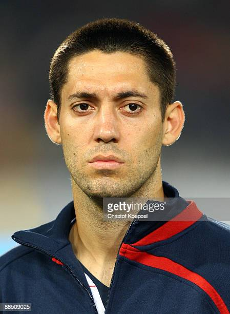 Clint Dempsey of the USA is seen during the FIFA Confederations Cup match between USA and Italy at Loftus Versfeld Stadium on June 15 2009 in...