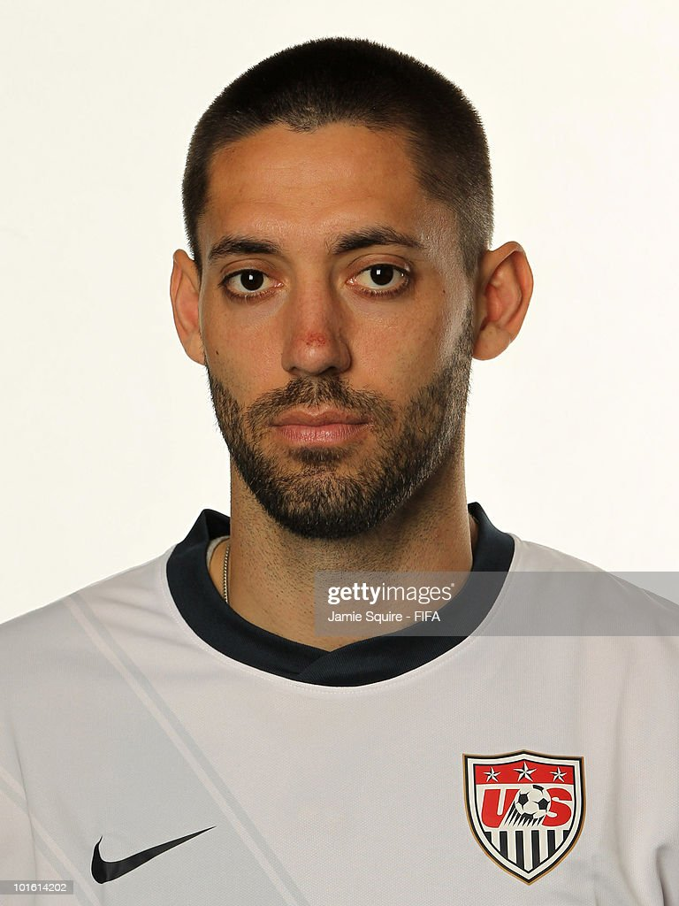 Clint Dempsey of USA poses during the official FIFA World Cup 2010 portrait session on June 3, 2010 in Centurion, South Africa.