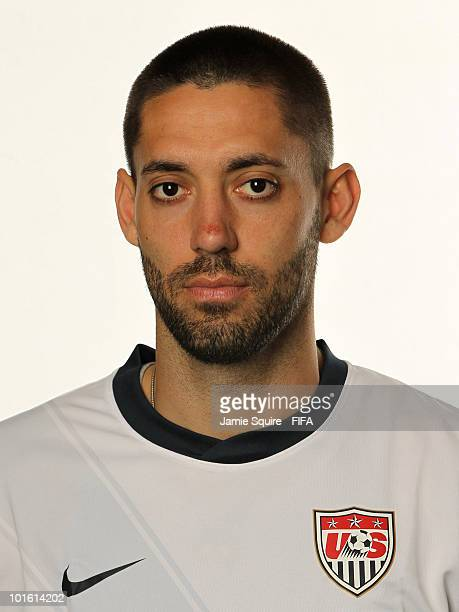 Clint Dempsey of USA poses during the official FIFA World Cup 2010 portrait session on June 3 2010 in Centurion South Africa