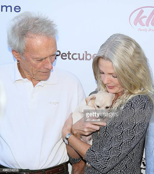 Clint Eastwood and Christina Sandera attend Eastwood Ranch Foundations hosts 1st annual Fall Garden Party Animal Rescue Fundraiser at at Malibu...