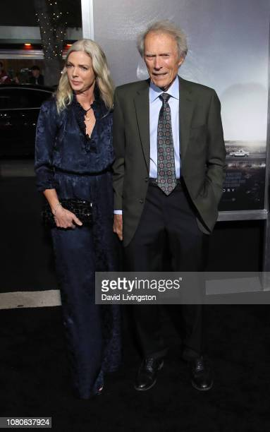 "Clint Eastwood and Christina Sandera attend Warner Bros. Pictures World Premiere of ""The Mule"" at Regency Village Theatre on December 10, 2018 in..."