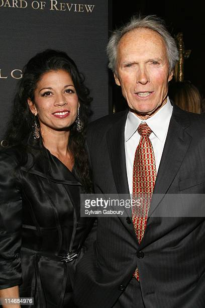 Clint Eastwood and Dina Eastwood during The 2006 National Board of Review of Motion Pictures Awards Gala Inside Arrivals at Cipriani's 42nd Street in...