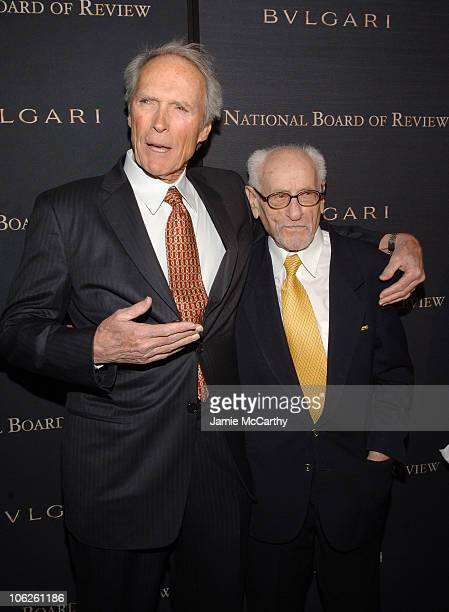 Clint Eastwood and Eli Wallach during The 2006 National Board of Review of Motion Pictures Annual Gala - Red Carpet at Cipriani in New York City, New...