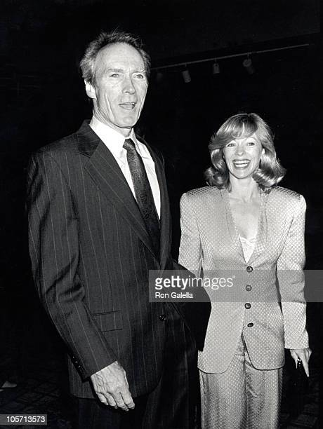 Clint Eastwood and Frances Fisher during A Night to Fight Diabetes at Century Plaza Hotel in Century City California United States