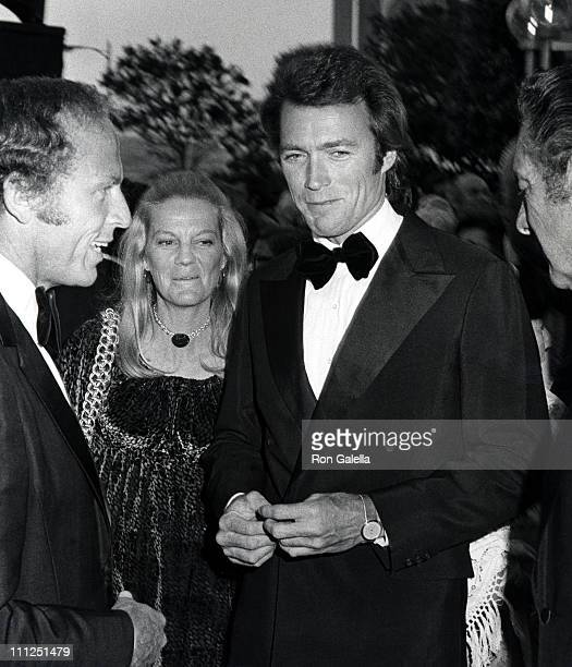 Clint Eastwood and his wife, Maggie, during the Motion Picture and Television Relief Fund 50th Anniversary at Dorothy Chandler Pavilion in Los...
