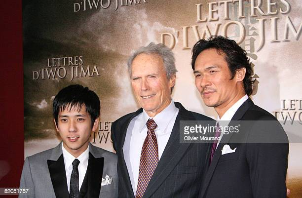 Clint Eastwood and Kazunari Ninomiya and Tsuyoshi Ihara
