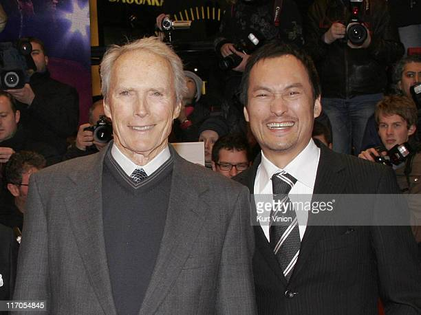 Clint Eastwood and Ken Watanabe during 57th Berlinale International Film Festival - Letters from Iwo Jima Premiere Red Carpet Arrivals in Berlin,...