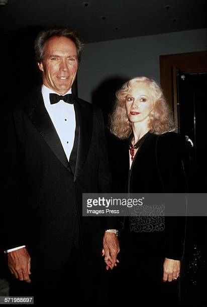 Clint Eastwood and Sondra Locke circa 1988 in New York City