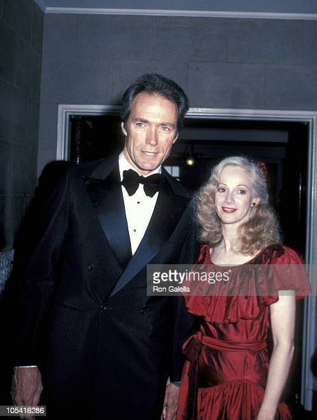 Clint Eastwood and Sondra Locke during Firefox Premiere Cocktail Party at Home of Blanchette Rockefeller in New York City New York United States