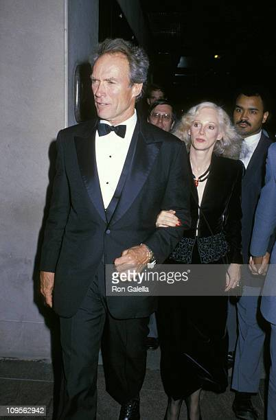 Clint Eastwood and Sondra Locke during Gala Dinner Honoring Clint Eastwood for the Establishment of the Clint Eastwood Cinema Collections at Museum...