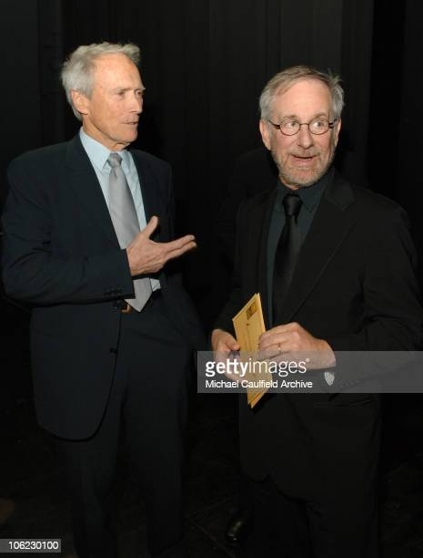 Clint Eastwood and Steven Spielberg winners of Best Foreign Language Film for 'Letters from Iwo Jima'
