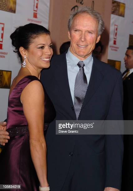 Clint Eastwood and wife Dina during 9th Annual Critics' Choice Awards Arrivals at Beverly Hills Hotel in Beverly Hills California United States