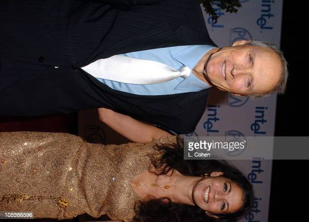 Clint Eastwood and wife Dina Eastwood during 16th Annual Producers Guild Awards Red Carpet at Culver Studios in Culver City California United States